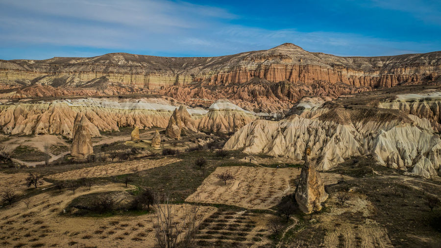 Landscape of Cappadocia - Turkey Turkey Türkiye Göreme Natural Landscape Landscape_photography Anatolia Land Rock Rock Formation Nature Natural Wonder Scenics - Nature Tranquility Environment Beauty In Nature Geology Eroded Formation Climate Travel Destinations Rock - Object