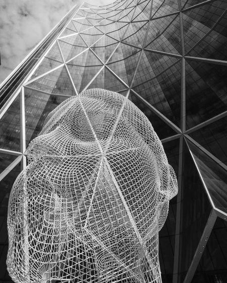 Wonderland sculpture in the city of Calgary. Calgary, Alberta Calgary Architecture Design Public Art Blackandwhite Photography