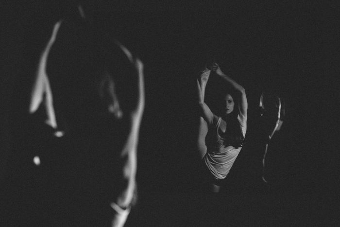 Reflective Dance Dance Dancer Jazz Dance Low Light Series. Shadows Playing With Light VSCO Vscogood Split Pic Model Modeling