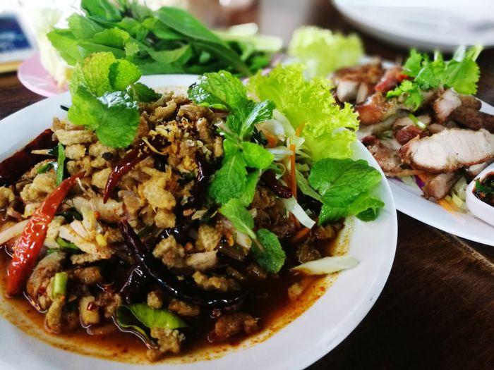 ลาบเป็ด Thai