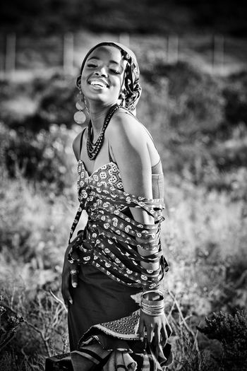 Some more portraiture. Beautiful Environment People Africa B&W Portrait Living Bold Fashion Photography Portrait Blackandwhite EyeEm Best Shots - Black + White