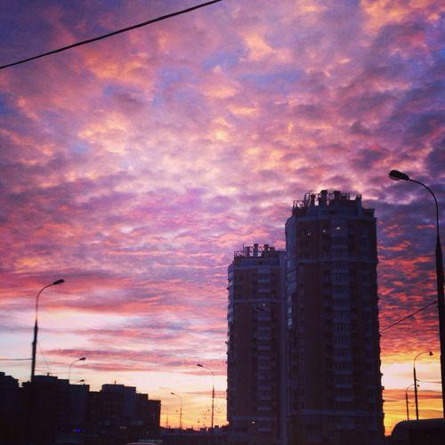 Sunset Hanging Out Taking Photos
