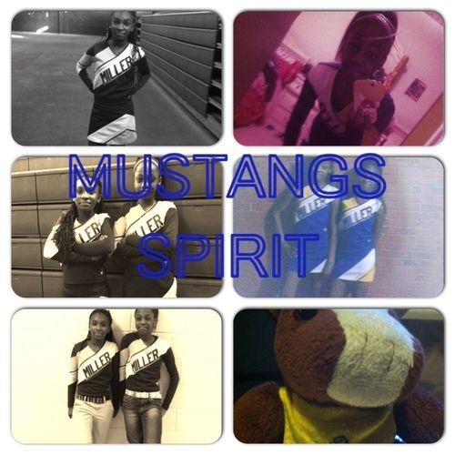 Meh Nd Mi Right Hand B Rep. Them Mustangs O Yeah