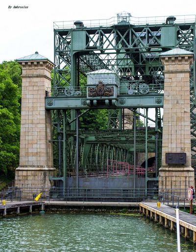 Built Structure Architecture Water Day Outdoors Bridge - Man Made Structure No People Building Exterior Sky Hebewerkbrücke