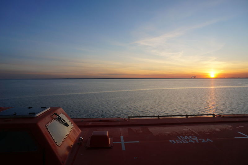 When I was sleeping in sailing to Saint Petersburg cruise ship, I woke up for toilet. Check the clock, it was the sunrise time. I went to balcony and saw that magic time. EyeEmNewHere Sky Water Sea Transportation Mode Of Transportation Horizon Horizon Over Water Nautical Vessel Scenics - Nature No People Beauty In Nature Nature Cloud - Sky Tranquility Tranquil Scene Sun Travel Ship Cruise Ship Sunrise Russia A New Perspective On Life Capture Tomorrow It's About The Journey