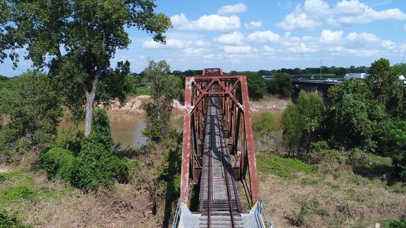 Train Tracks Train Train Bridge