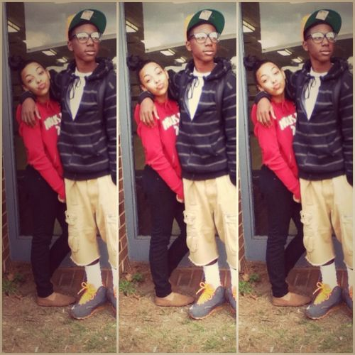 Me And Jacobe Today ;)