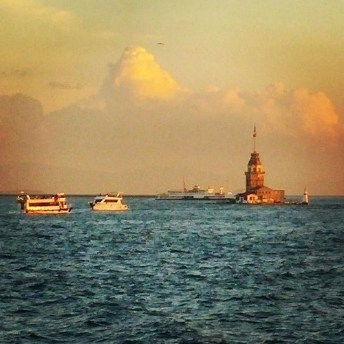 Istanbul Maidenstower Bosphorus Sea turkey ferry