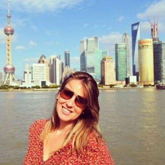 """""""Viajar é mudar a roupa da alma"""". (M. Quintana). Tempo de saudade... Xangai, China. 30trips VoltaAoMundo Rtw Travel travelers trip shanghai china"""