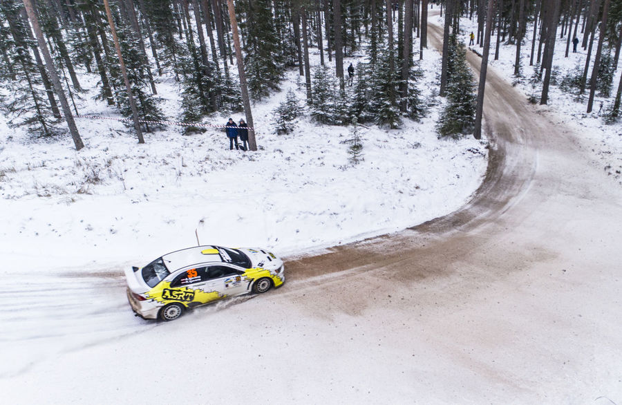 Drone  From Above  Ice Snow ❄ Winter Aerial Autorally Car Cold Temperature Day Land Vehicle Nature No People Outdoors Rally Snow Transportation Winter Winterrally Wrc