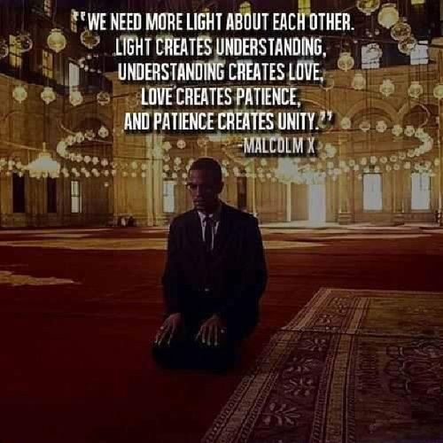 The world will be in peace if politicians listen to this man's advices. Al-Fatihah. Malcolmx .