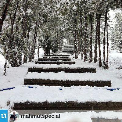 Foto :@mahmutspecial ・・・ Tüm yollar Konya'ya çıkar. Comseekonya Meram Konya kar
