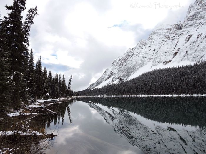 Banff National Park  Amazing View Rocky Mountains Canada Snow Mountains Hiking Boom Lake YYC First Eyeem Photo