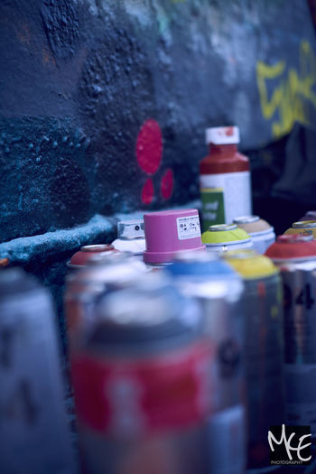 Close-up Colors Day Grafiti No People Objects Outdoors Paint