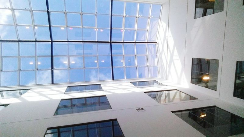 Sky Window Glass Swansea Baycampus Management Building Artitecture Clouds Clouds And Sky