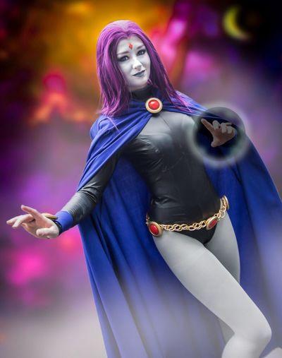 Raven - Teen Titans Cosplayer Nycc2016 NYCC Cosplay Cosplaygirl Teentitans
