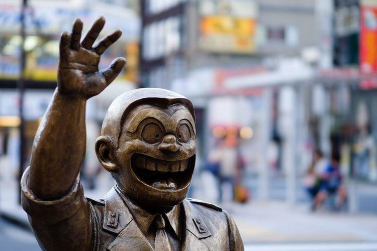 Statue Animation Character Kameari Ryousan The Portraitist - 2016 EyeEm Awards