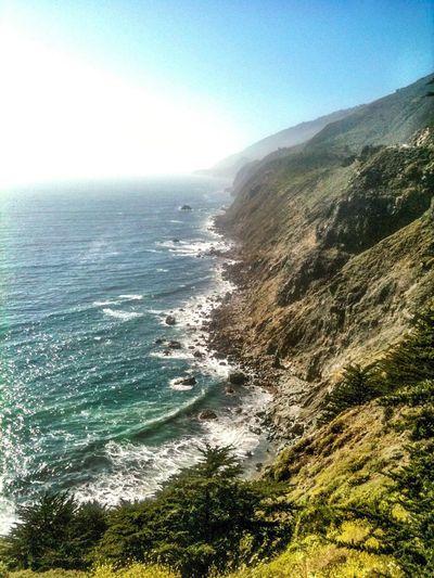 Coastline Bigsur Ocean California