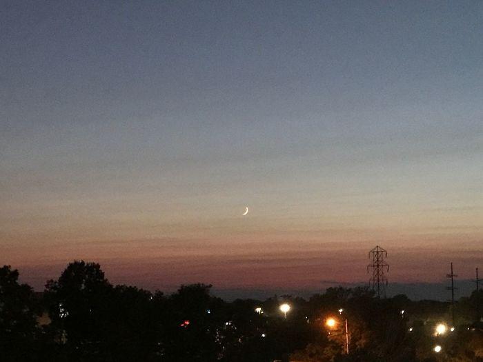 Sky Nature Moon