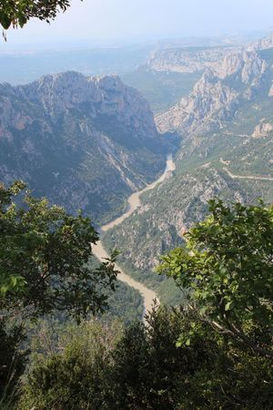 Gorge du Verdon Tree Beauty In Nature Mountain Plant Scenics - Nature Tranquility Nature