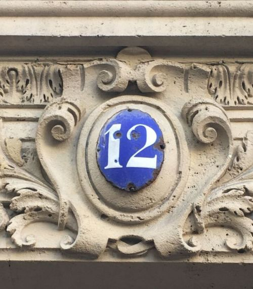 12 Number12 Doornumber No People Close-up Day Blue Architecture Building Exterior Low Angle View Communication Outdoors