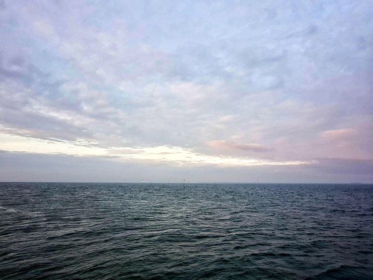 Sea Sunset Horizon Over Water Sky Beauty In Nature Nature Scenics No People Horizontal Outdoors Cloud - Sky Tranquility Beach Water Day