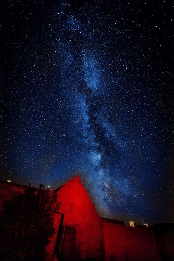 First try of a Milky Way pic. Milkyway Night Star - Space Star Sky Astronomy Galaxy Star Field Scenics - Nature No People Illuminated Outdoors Nature Space Building Exterior Beauty In Nature
