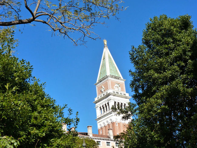 Architecture Building Exterior Built Structure Church Clear Sky Clock Tower Cross History Low Angle View Outdoors Place Of Worship Religion Tower