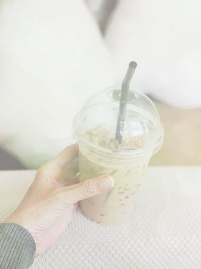 Coffee Ice Coffee Coffee ☕ Holding Human Hand One Person Refreshment Drink Food And Drink Lifestyles Real People Freshness Drinking Straw Indoors  Healthy Eating Close-up Human Body Part Day People Adult Food Food And Drink Eyeem Drinks