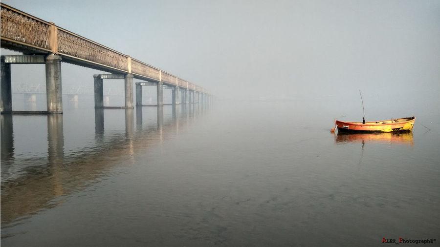 Golden Bridge @ Narmada River Bharuch - Gujarat - India Enjoying Life First Eyeem Photo