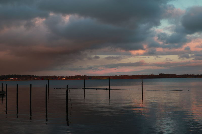 Schlei Schleswig-Holstein Beauty In Nature Cloud - Sky Lake Nature Outdoors Scenics Sky Sunset Tranquility Water Waterfront
