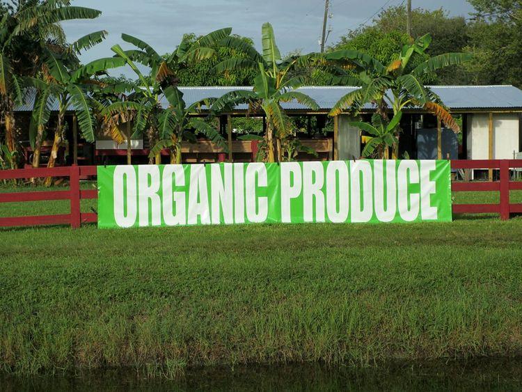 Organic Produce sign Organic Food Organic Markets Signs Markets Fresh Produce