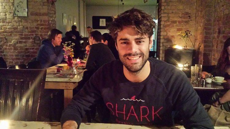 Dinner with the shark. Sane's The Man