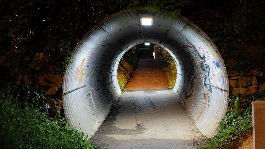 Liestal Liestal Tunnel Night