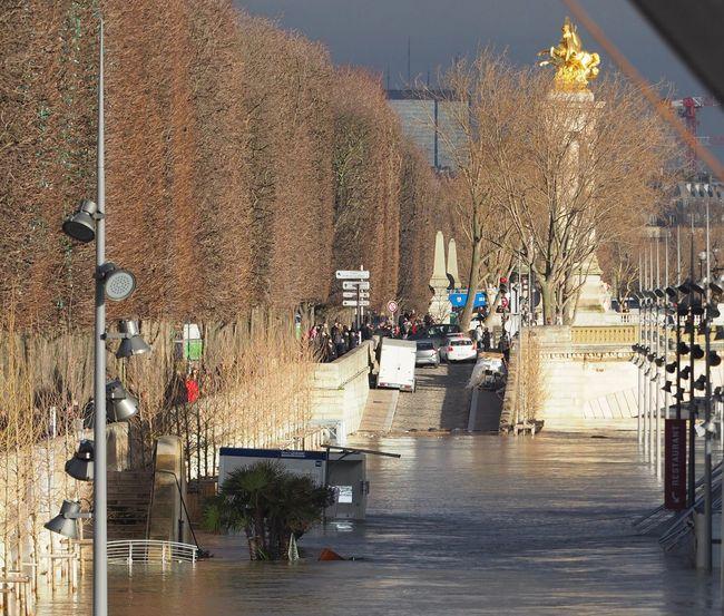 Flood Inondation Water Crue 2018 Paris Seine