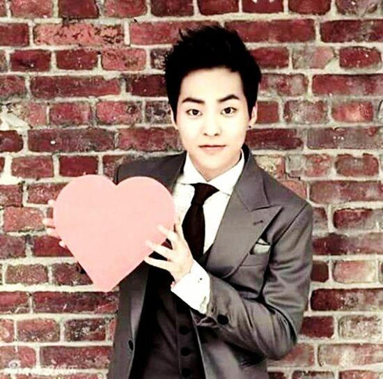 Exoxiumin EXO Sehun Suho Exochanyeol Kai Tao  Exolay Chen Exodo Kris Baekhyun Luhan 6 more days and its VALENTINES DAY!!! Love you Xiumin! Be my date! HAHAHA! First Eyeem Photo