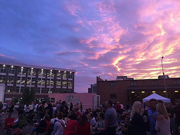 Cottoncandyclouds Sioux Falls Downtown Blockparty Clouds And Sky Live Music Sioux Falls, South Dakota