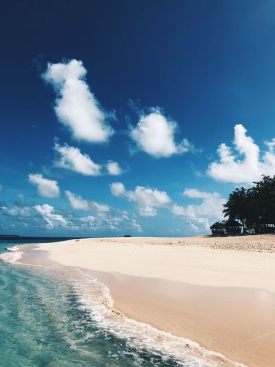 Siargao Island Ocean Sea Beach Daku Island Philippines Siargao Island Siargao Sky Water Beauty In Nature Scenics - Nature Beach Cloud - Sky Land