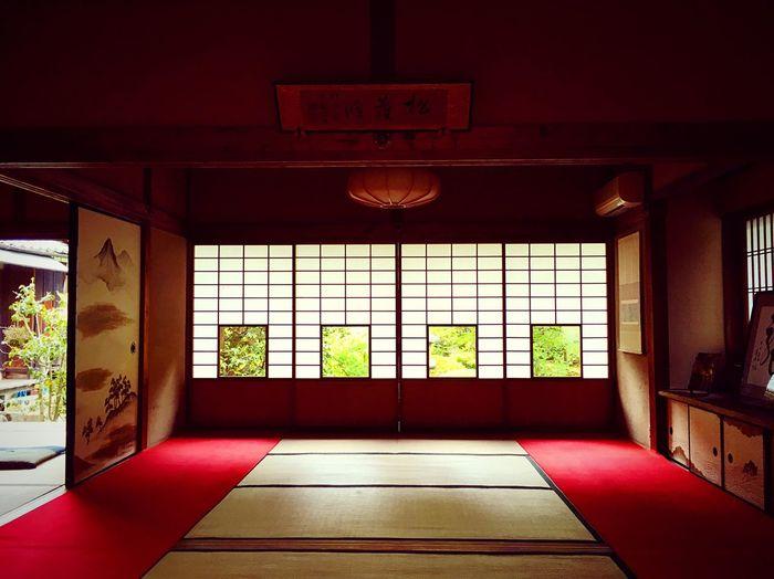 雲龍院 Kyoto,japan Tranquility Tranquil Scene Travel Destinations Japan Photography Architecture Indoors  Built Structure Window No People Day Building Glass - Material Domestic Room