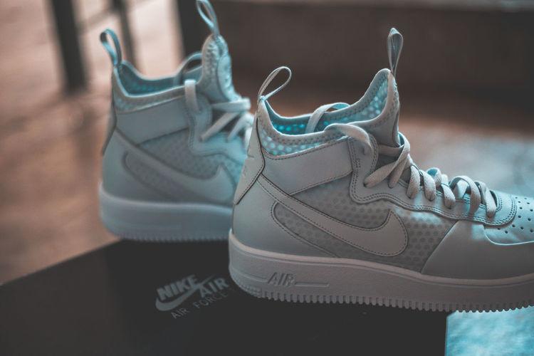 Air Close-up Force High Hype Hypebeast  Indoors  Mid Neon Sneakerhead  Sneakers Sneakersaddict Sock White