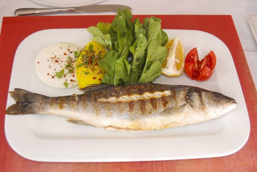 Lahmacun Fish Alinazik Fast Food Pide Calamari Kalamar  Pitta Kebap Turkish Kebap Mushroom Cipura See Bream Karides