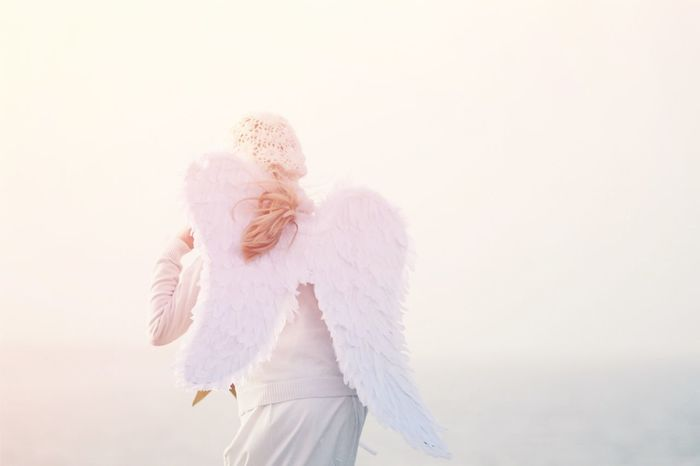 Angel Beach Beauty In Nature Christmas Costume Wing Day Engel Girl Heaven Light Nature One Person Outdoors Running Sunlight White Marija Behrendt Shades Of Winter
