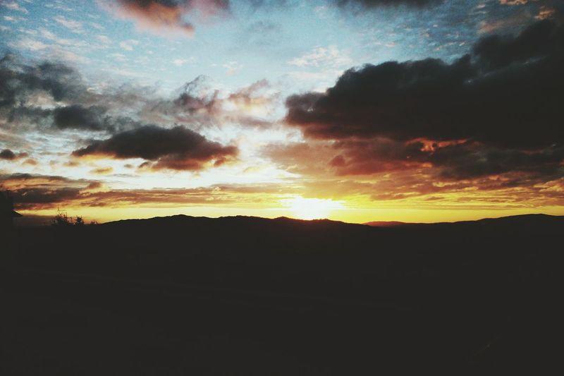 Sunrise Sun Clouds And Sky