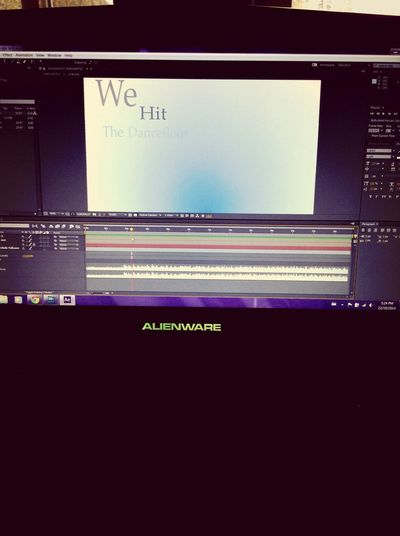 It's Business Time adobe Lyric Video After Effects