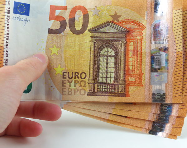 Close-up Currency Day Euros Geldscheine Human Body Part Human Finger Human Hand Indoors  Money One Person Paper Currency People Real People