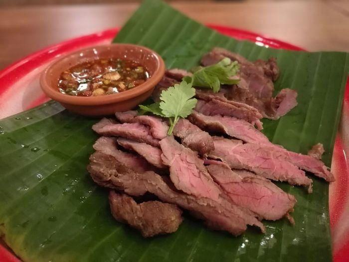 อาหารการกิน Food And Drink Food Foodie Thai Foods Grilled Beef Esarn Food