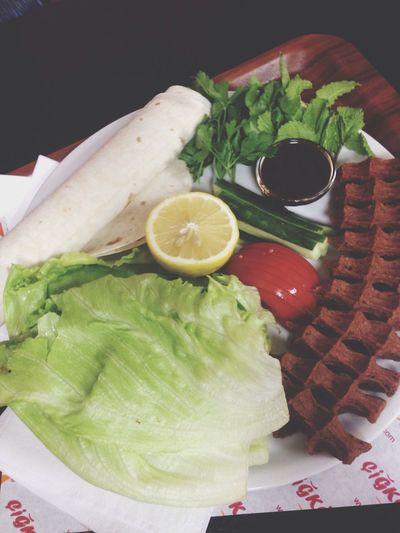Çiğköftem 👌🏻😋 Cigköftem Delicious Hotpeppers