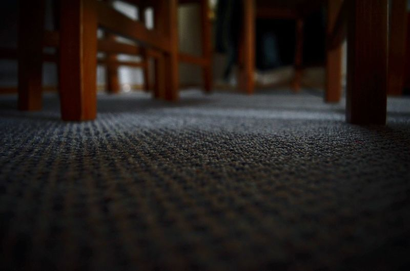 Surface level of carpet