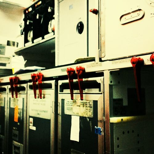 Galley stories. Airbus A320 Aft Galley Throwback