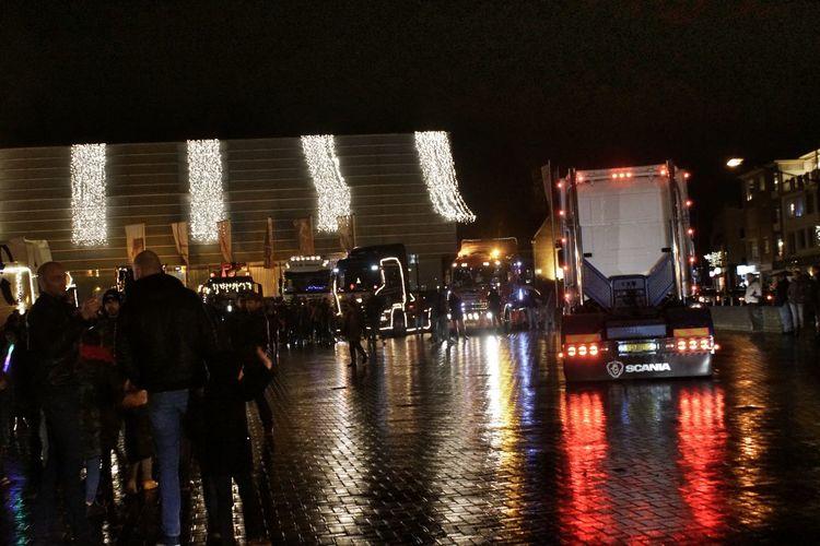 Truck lightshow